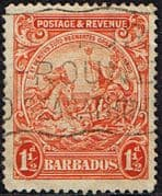 Barbados 1925 Seal of the Colony SG 231c Fine Used