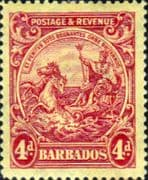 Barbados 1925 Seal of the Colony SG 235 Fine Used