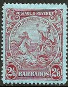 Barbados 1925 Seal of the Colony SG 238a Fine Mint