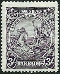 Barbados 1925 Seal of the Colony SG 239 Fine Mint