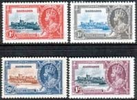 Barbados 1935 King George V Silver Jubilee Set Fine Mint