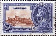 Barbados 1935 King George V Silver Jubilee SG 243 Fine Used