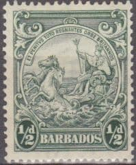 Postage Stamps Barbados 1938 Badge of the Colony SG 248 Scott 193Fine Used