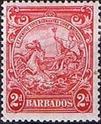 Barbados 1938 Badge of the Colony SG 250e Fine Mint