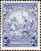 Barbados 1938 Badge of the Colony SG 251 Fine Mint