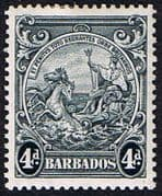 Barbados 1938 Badge of the Colony SG 253 Fine Mint