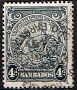 Barbados 1938 Badge of the Colony SG 253 Fine Used
