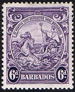 Postage Stamps Barbados 1938 Badge of the Colony SG 254 Fine Used Scott 199