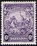 Barbados 1938 Badge of the Colony SG 254 Fine Mint