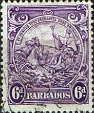 Barbados 1938 Badge of the Colony SG 254 Fine Used