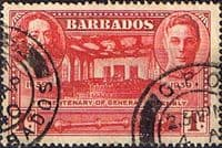 Barbados 1939 SG 258 Tercentenary of General Assembly Fine Used
