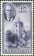Barbados 1950 SG 279 St Michaels Cathedral Fine Mint