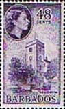 Barbados 1964 QE II SG 317 The Cathederal Fine Mint