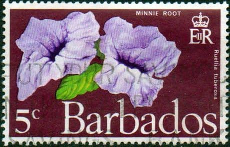 Barbados 1970 Flowers SG 420 Fine Used