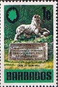 Barbados 1970 SG 399 Lion at Gun Hill Fine Mint