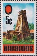 Barbados 1970 SG 403a St. Anne's Fort Fine Mint