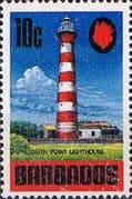 Barbados 1970 SG 406a South Point Lighthouse Fine Mint