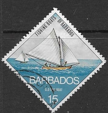 Stamps Barbados 1974 Orchids SG 489 Fine Used Scott 400