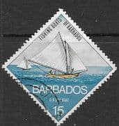 Barbados 1974 Fishing Boats SG 480 Fine Used