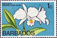 Barbados 1974 Orchids SG 485 Fine Mint