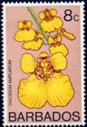 Barbados 1974 Orchids SG 490 Fine Mint
