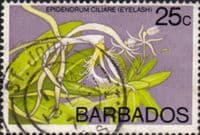 Barbados 1974 Orchids SG 494 Fine Used