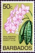 Barbados 1974 Orchids SG 496 Fine Mint