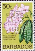 Barbados 1974 Orchids SG 496 Fine Used