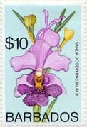 Barbados 1974 Orchids SG 500 Fine Mint