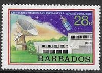 Barbados 1979 Space Projects SG 642 Fine Mint