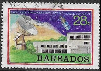 Stamps Barbados 1979 Space Projects SG 495 Fine Used Scott 406