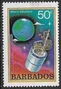 Barbados 1979 Space Projects SG 644 Fine Mint