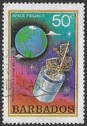 Barbados 1979 Space Projects SG 644 Fine Used