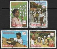 Barbados 1981 Barbados Year for Disabled Persons Set Fine Used