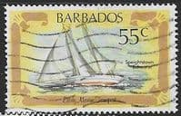 Barbados 1982 Early Marine Transport SG 703 Fine Used