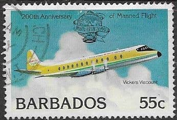 Stamp of Barbados 1983 Commonwealth Day SG 722 Scott 598