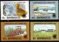 Barbados 1983 Commonwealth Day Set Fine Mint