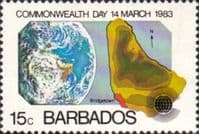 Barbados 1983 Commonwealth Day SG 722 Fine Mint