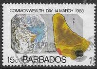 Barbados 1983 Commonwealth Day SG 722 Fine Used