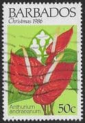 Barbados 1986 Christmas SG 829 Fine Used