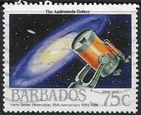 Barbados 1988  Harry Bayley Observatory SG 874 Fine Used