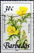 Barbados 1989  Wild Plants SG 895 Fine Used