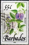 Barbados 1989  Wild Plants SG 898 Fine Used
