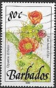 Barbados 1989  Wild Plants SG 901 Fine Used