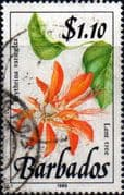 Barbados 1989  Wild Plants SG 902 Fine Used
