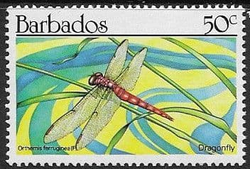 Barbados 1990  Insects SG 937 Fine Used
