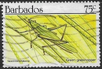 Barbados 1990  Insects SG 939 Fine Used