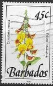 Barbados 1990  Wild Plants SG 927 Fine Used