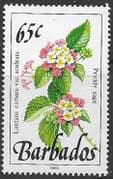 Barbados 1990  Wild Plants SG 930 Fine Mint