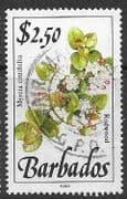 Barbados 1990  Wild Plants SG 934 Fine Used